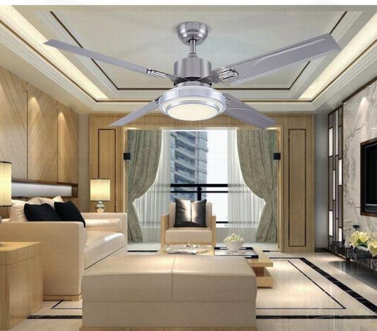 ventilador de teto moderno com luminária