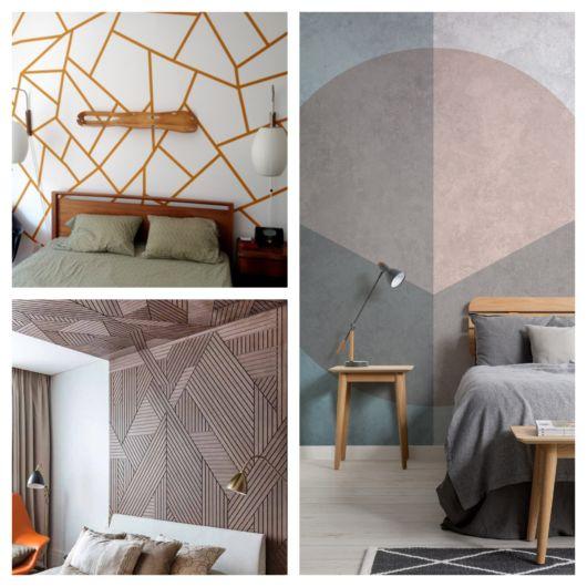 parede geométrica