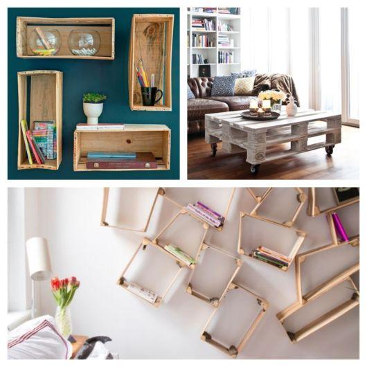 Móveis reciclados – 60 ideias sustentáveis na decoração do lar!
