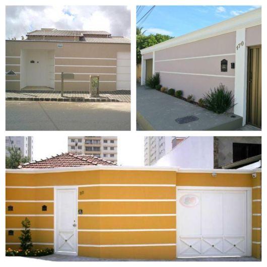 muros de casas simples