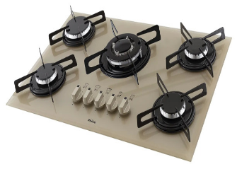 Cooktop Champagne.
