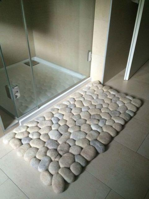 artesanato para banheiro
