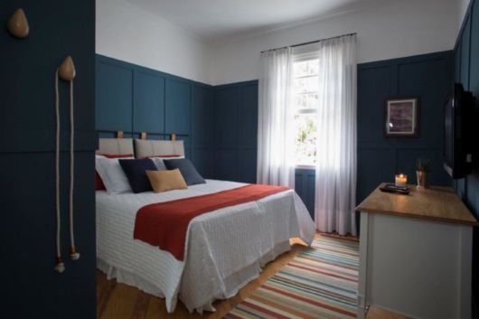 quarto casal azul