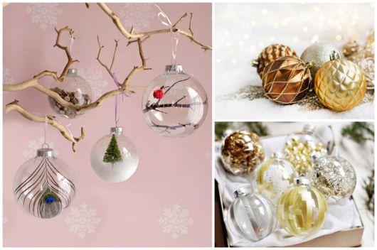 Modelos de bolas de Natal