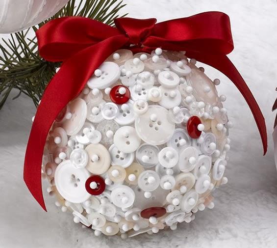 Bolas de Natal de isopor