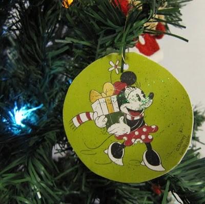 Bolas do Mickey de Natal
