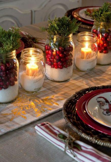 decoração criativa com vela