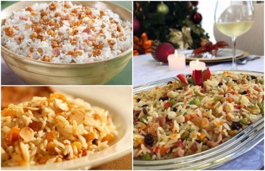 tipos de arroz natalinos