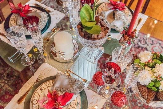 decoração de natal luxo