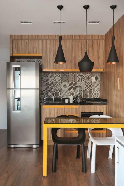 decoração cozinha americana apartamento