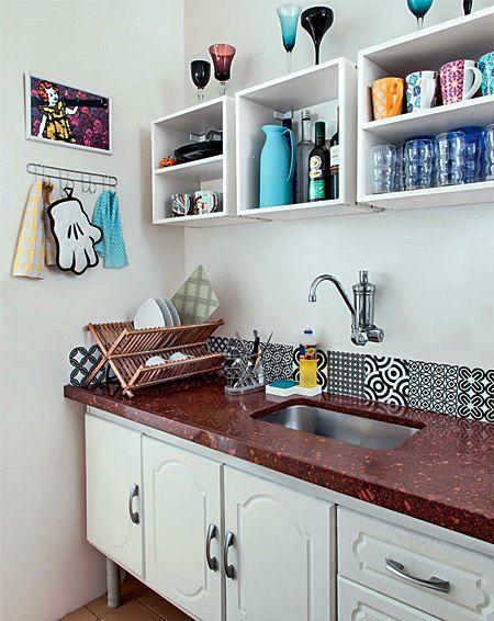 cozinha com nichos
