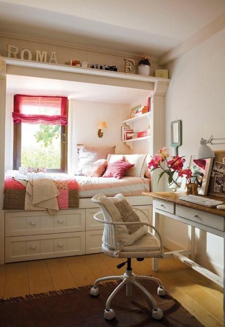 Como organizar quarto pequeno de solteiro