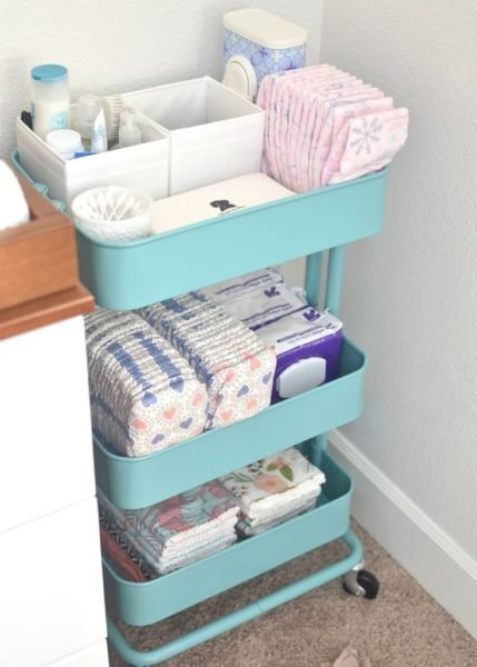 Organização de quarto de bebê