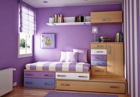 Organização de quarto pequeno