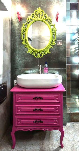 decoração moderna banheiro