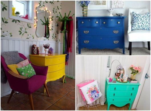 móveis retrô na decoração
