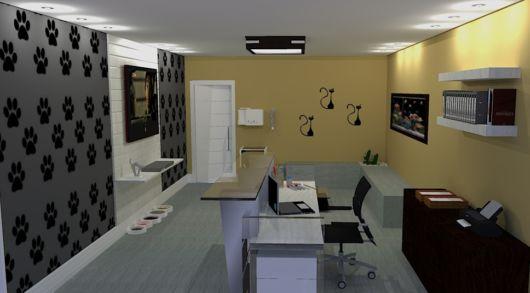 decoração de consultório