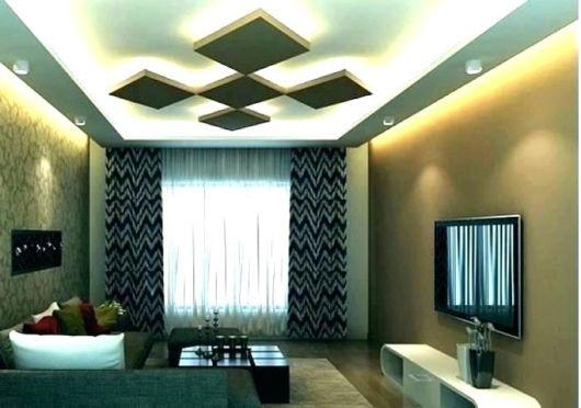 cortina estampada em sala moderna