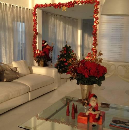 decoração sala clean