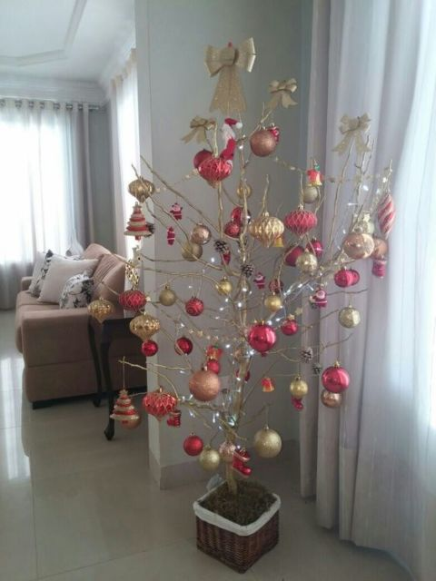 árvore de natal simples e barata