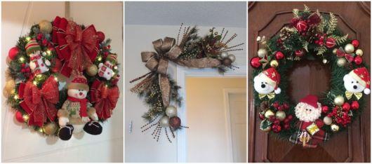 decoração porta
