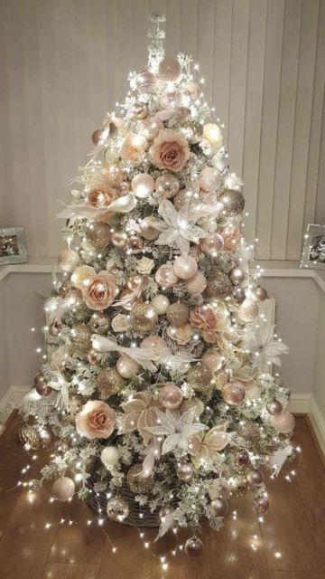 decoração de luxo árvore de natal