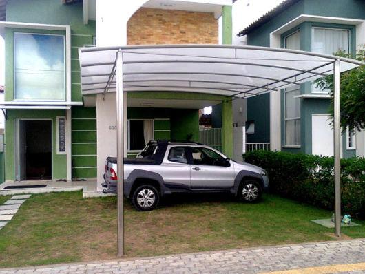 como escolher uma garagem simples e bonita