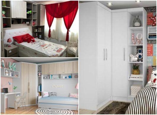 modelos de móveis quarto solteiro