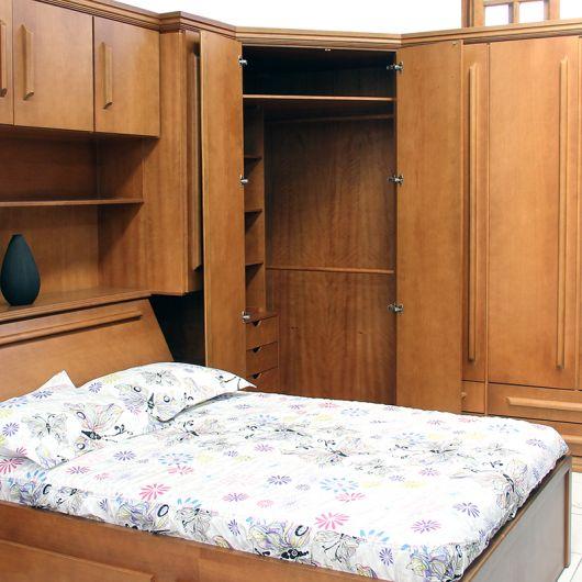 quarto de casal de madeira