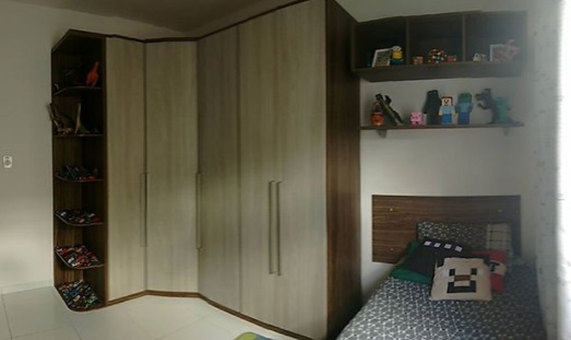 quarto de solteiro menino