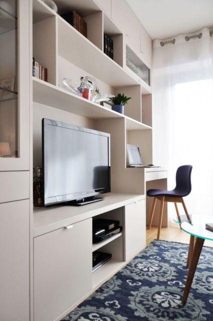 sala com móvel planejado