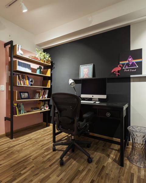 home office preto