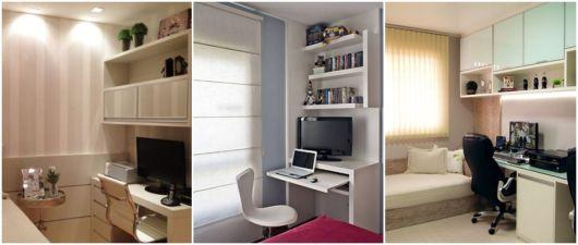 escritório no quarto