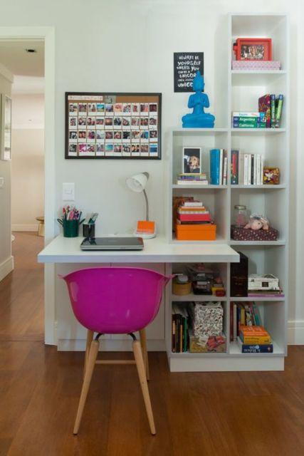 escritório em casa planejado