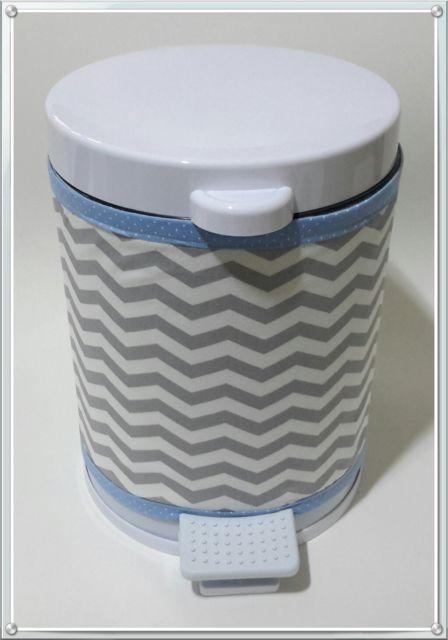 lixeira para quarto de bebê com pedal neutra
