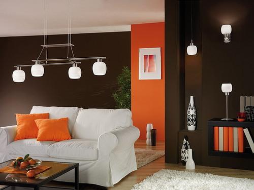 cor marrom na decoração