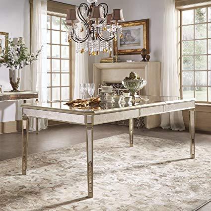 mesa de jantar retrô sem cadeiras