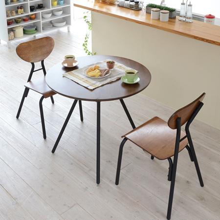 mesa de jantar retrô para casal