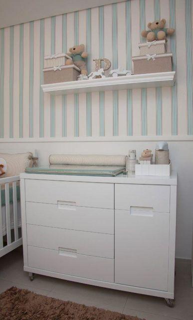 Modelos de cômodas para quarto de bebê