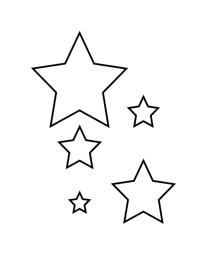 estrelas pequenas
