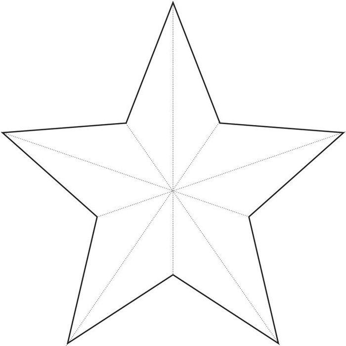 desenho estrela grande