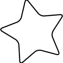molde EVA estrela 5 pontas
