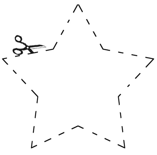 modelo de estrela para EVA