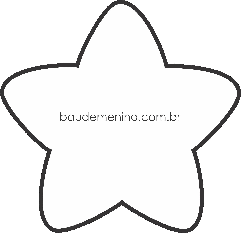 estrela grátis para artesanato com feltro