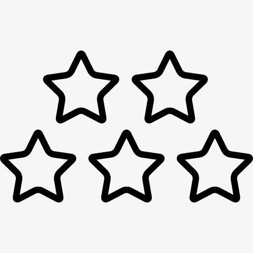 molde mini estrelas