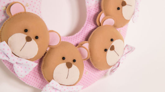 Ursinhos de feltro