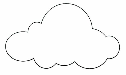 Molde de nuvem