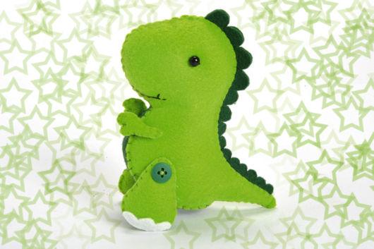 Dinossauro de feltro