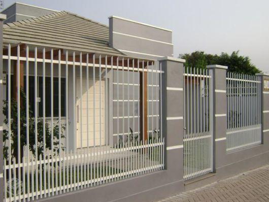 70 muros de casas simples e bonitos – Modelos lindos e econômicos!