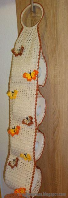 borboleta de crochê